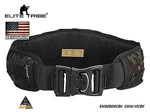 combat chasse ceinture tactique Molle ceinture Multicam noir