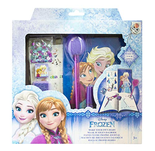 Joy toy diario segreto frozen elsa anna disney + accessori in confezione regalo - 18235