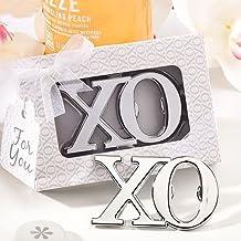 Set of 6 XO Design Bottle Opener Favours - {638054048954}
