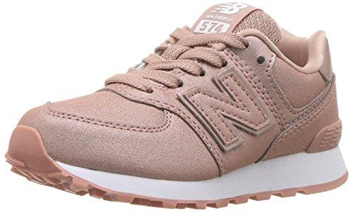 New Balance 574v2, Sneaker Unisex-Bambini, Oro Gold KA, 33 EU