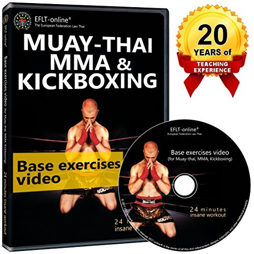 Kickboxing DVD Workout - Womens Cardio Fitness Videos - Exercise for Men Muay Thai MMA Boxing