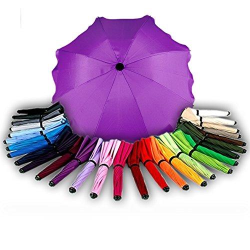 BAMBINIWELT Sonnenschirm für Kinderwagen Ø68cm UV-Schutz50+ Schirm Sonnensegel Sonnenschutz...