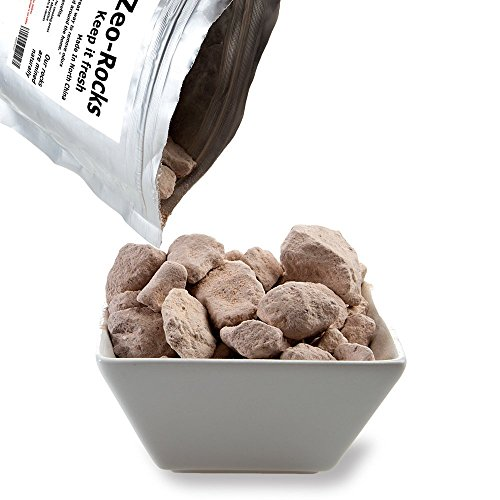 Rechargeable Zeolite Rocks (1lb)- Odour Eliminator That Is 1500 More Times Effective Than Activated Charcoal. Removes Smells Around The Home; Including Pets, Cooking , Bins & Smoking Areas.