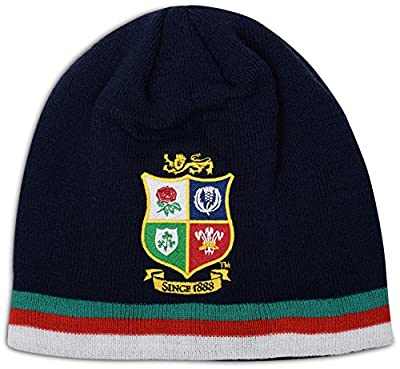 British And Irish Lions Men's Acrylic Fleece Beanie by Canterbury