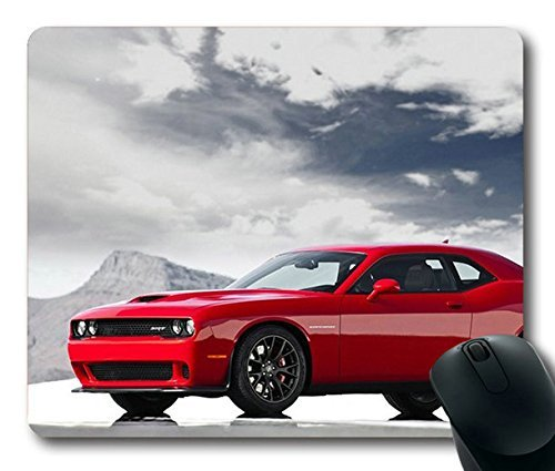 popular-mouse-pad-with-2015-dodge-challenger-srt-hellcat-non-slip-neoprene-rubber-standard-size-9-in