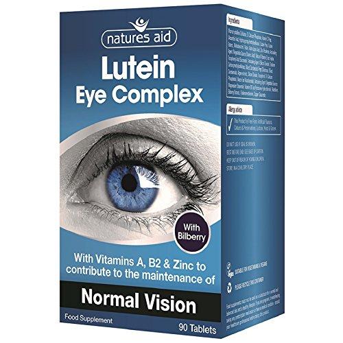 Lutein 90 Tabletten (Lutein Augen Vital Kapseln mit Blaubeeren 90 Tabletten)