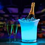 Babz LED Colour Changing Ice Bucket - Changes 7 Colours - Battery Operated