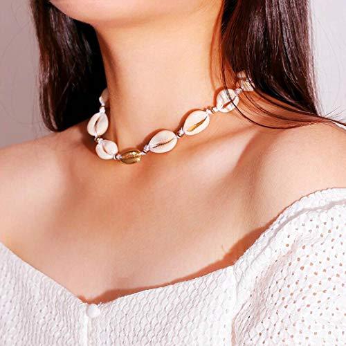 Yean Boho Muschel-Halskette - 8,90 €