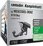 Rameder Komplettsatz, Anhängerkupplung abnehmbar + 13pol Elektrik für Mercedes-Benz VITO Bus (113749-05013-2)