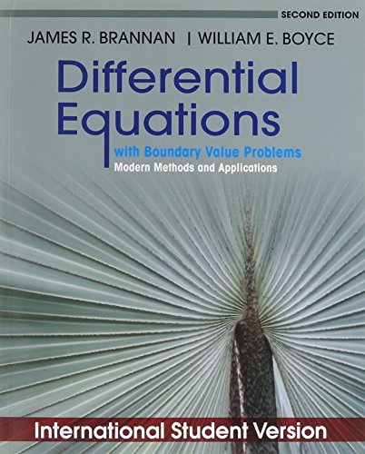 Differential Equations with Boundary Value Problems: An Introduction to Modern Methods & Applications
