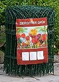 Profishop-Bremen Ziergitter Gartengitter Gartenzaun Maschendrahtzaun 40 cm hoch 25 m lang