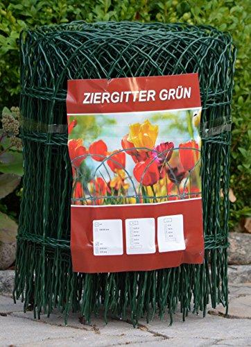Profishop-Bremen Ziergitter Gartengitter Gartenzaun Maschendrahtzaun 90 cm hoch 25 m lang