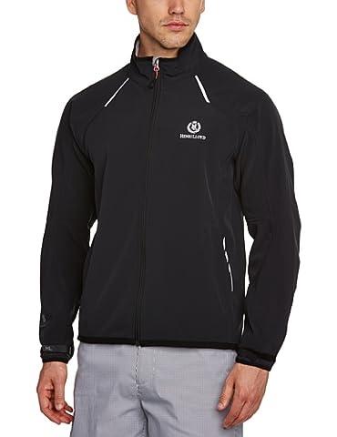 Henri Lloyd Men's Cyclone Soft Shell Jacket - Black, Large