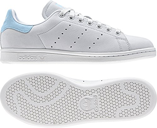 adidas Damen Stan Smith Sneaker Weiß (Crystal White/Crystal White/Icey Blue)
