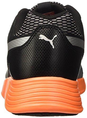 Puma St Trainer Evo Silver Sneaker Nero/Argento/Shocking Orange