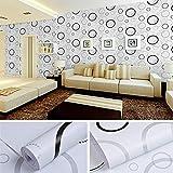 lsaiyy Papel Pintado Autoadhesivo Cocina Restaurante baño decoración baño Wallpaper- 45CMX10M