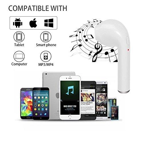 Bluetooth-Headset, Stereo-Headset, Das mit dem Samsung Galaxy S7 S8 Plus, iPad/Android-Smartphone-Sport-Headset kompatibel ist… - 5
