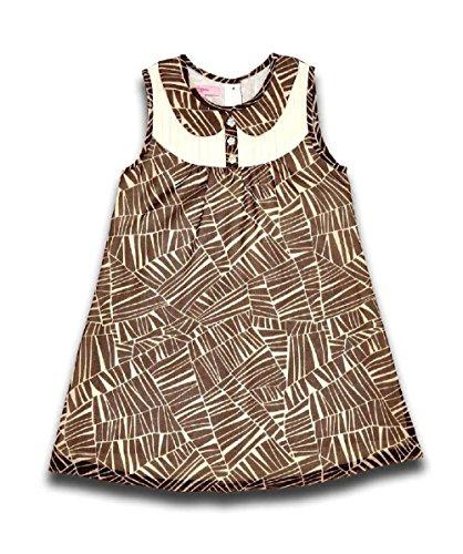 Beetlejuice Mädchen Designer Brown Pinafore Bedrucktes Kleid Age 3 (Kleid Beetlejuice)