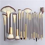 Arthur 12 18 24 Pennello per Trucco Beige Pennello per Trucco Oro Champagne Pennello per Trucco Professionale Bellezza Pennello per Il Trucco,18