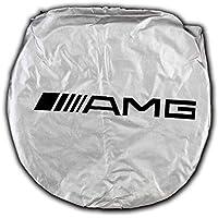 AMG Auto sport 150X70cm Car Window Sun Shade Car Windshield Visor Cover Block Front Window Sunshade UV Protect Car Window Film