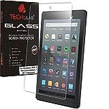 TECHGEAR Vetro Edizione Pellicola Protettiva Compatibile con Il Nuovo Amazon Fire 7' 2019 Tablet, Vetro Temperato [Senza Bolle] [Durezza 9H] [Cristallo Chiaro] [Anti-graffio]