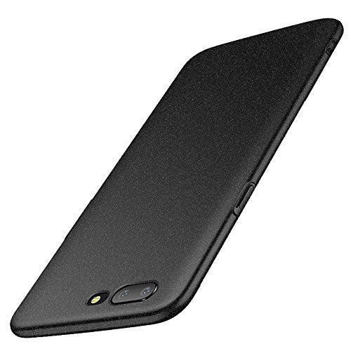 anccer Funda OnePlus 5 [Serie Colorida] [Ultra Delgado] [Anti-Drop] ultrafin Premium Carcasa OnePlus Five (Grava Negro)