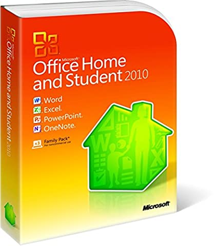 Microsoft Office Home and Student 2010 - Family Pack -