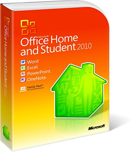 Preisvergleich Produktbild Microsoft Office Home and Student 2010 - Family Pack - 3PCs / 1User Deutsch