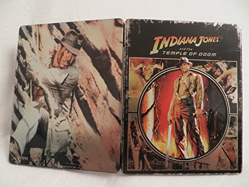 Indiana Jones and the Temple of Doom – Limited Edition Steelbook – Futurepak – Novobox Edition – Geprägt – Blu-ray [Blu-ray] - 5
