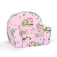 MuseHouse Childrens Chair Armchair Sofa Seat Stool for Kids Toddlers Childs Sofa seat