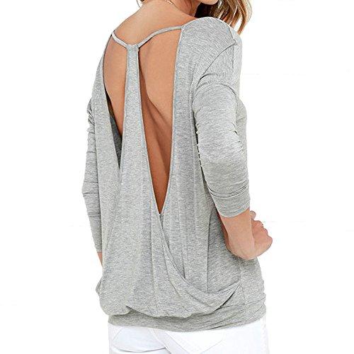 7fa1a555a616 Rückenfreie Tops von Yeesea für Damen günstig online kaufen