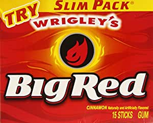 Wrigleys Big Red, 15-Count (Pack of 10)