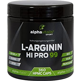 L-Arginin Alpha VItalis