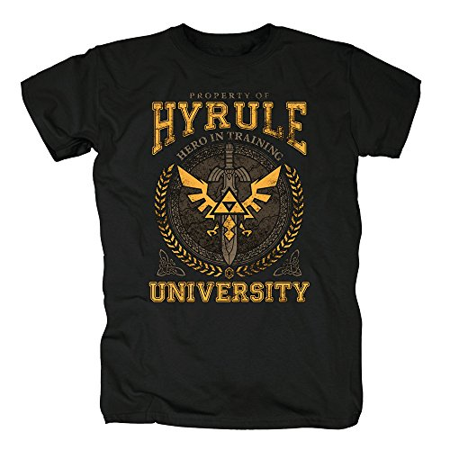 TSP-Hyrule-University-T-Shirt-Herren