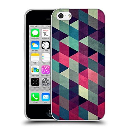 Offizielle Spires Kriechen Isometrik Soft Gel Hülle für Apple iPhone 5 / 5s / SE Kalter Krieg