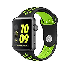 Apple Watch bracelet, VENTER®Soft Silicone Sport Style Replacement iWatch Strap for Apple Wrist Watch 42mm
