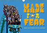 Made for Fear - Der Achterbahnkalender (Wandkalender 2016 DIN A4 quer): Die steilsten, schnellsten und höchsten Rollercoster weltweit (Monatskalender, 14 Seiten) (CALVENDO Mobilitaet)
