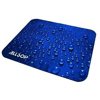 Allsop Stoff-Mauspad Raindrop blau
