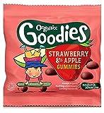 Organix Goodies Organische Fruchtgummi Erdbeer-Apfel Für Kleinkinder Ab 12 Monate Und 12 G - Packung mit 2