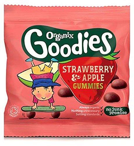 Organix Goodies Organische Fruchtgummi Erdbeer-Apfel Für Kleinkinder Ab 12 Monate Und 12 G