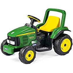 Peg Perego Tractor eléctrico John Deere Power Pull, 6V