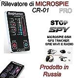 RILEVATORE DI MICROSPIE PROFESSIONALE CR-01 RUSSIA SPIA GPS TELEFONI SPIA AMBIENTALE, MICROCAMERE SPY SPIE CIMICI
