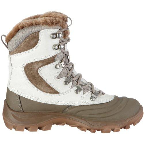 Ecco Xpedition II 810033, Chaussures de randonnée femme blanc / gris