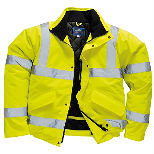 Portwest Hallo-Vis Bomberjacke (S463) - Yellow - L