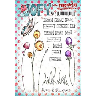 Paper Artsy JOFY Rubber Stamp on Ez mount - JOFY 11