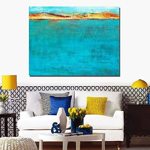 LFDYH handgemalte abstrakte ölgemälde auf leinwand gemälde für Wohnzimmer Wand dekorative Bilder Single Set Keine gerahmte 120 cm x 240 cm Plum -