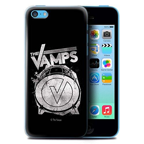 Officiel The Vamps Coque / Etui pour Apple iPhone 5C / Pack 6pcs Design / The Vamps Graffiti Logo Groupe Collection Grosse caisse