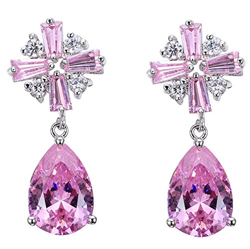 saysure-white-gold-filled-cz-long-earring-valentines-day-earring
