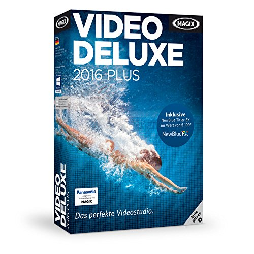 MAGIX Video deluxe 2016 Plus (Microsoft Video-editing)