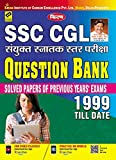 Kiran's SSC CGL combined graduate level exams question bank 1999 till date ( solved papers of previous year exams) —hindi1999 till date total 46 sets content, -question bank (solved papers) set – 01 SSC combined graduate level prelim exam, 04. 07. 19...